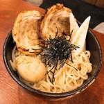 麺場 田所商店 - 仙台辛味噌つけ麺 900円 大盛り+100円