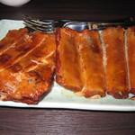 Yauatcha - コースメニュー$58(茶熏排骨肉)