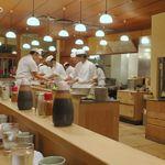 とんき - カウンター内の調理場