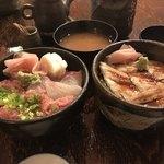 朝日寿司 総本店 - 二種類丼