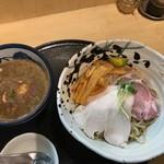 たけもと - 料理写真:【特製煮干しつけ麺…1,150円】◎2017/11