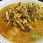 桃里 - 腹持ちの良いスープの上に、量もたっぷり。