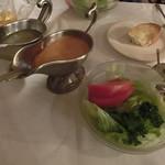 CHACOあめみや - サラダ&二種のドレッシング