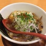 燕 - 料理写真:燕黒ラーメン