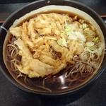 小粋そば - 野菜かき揚げ蕎麦(大)