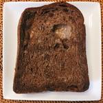 breadworks - カカオブレッド 1/2 @250円 1枚の大きさは市販の食パンサイズで厚みは厚めにカットされています。