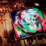 醉蓮火 - 入り口正面のアート