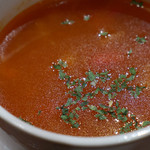 熟成牛ステーキ専門店 Gottie's BEEF - スープ