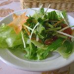 青野 - ランチセットのサラダ