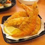 スシロー - えびの天ぷら盛り合わせ 260円