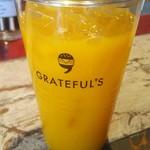 グレイトフルバーガー - マンゴジュース