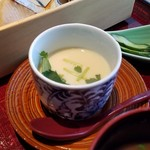 杜若 - 茶碗蒸し