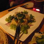 hakoniwa - シェフおすすめ 菜の花のペペロンチーノ