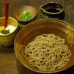 福助 - とろろ蕎麦(¥1200)