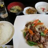和唐 - 料理写真:・「和牛肉の黒胡椒炒め定食(\800)」
