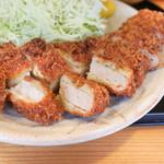 とんかつ桂 - 料理写真:上ロース定食