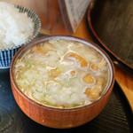 とんかつ桂 - 味噌汁