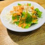 インパール - セットのサラダ