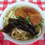 宮里そば - そば小(三枚肉)400円