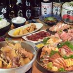 鶏厨房 ずっと - 贅沢☆『鶏厨房』ずっとコース4,000円/人