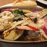 ターブル ド ペール - 鎌倉野菜のオーブン焼き