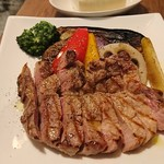 ターブル ド ペール - 三元豚と鎌倉野菜のグリル