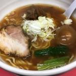 麺 えどや - 「玉子ラーメン」780円也。税込。