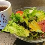 牛たん炭焼 利久 - ミニサラダ