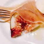TENOHA&STYLE RESTAURANT - ほらっ、イチジクくん。美味しかった!