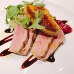 TENOHA&STYLE RESTAURANT - フォアグラとお肉。メインディッシュ