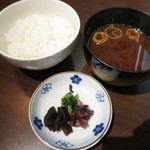 アピカルイン京都 - 上腕、ご飯、香物