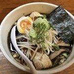 麺や 福一 - 料理写真:味玉中華そば・しょうゆ(830円)