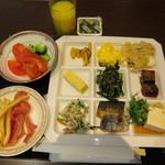 アピカルイン京都 - 朝食ビュッフェ