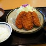 かつ満 - 料理写真:三元豚ヒレカツ膳