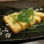 地鶏専門個室 宇佐美 - 既製品の様な玉子焼き