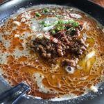 弘前いちろ - 料理写真:黒胡麻担々麺 750円