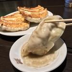 銀座 天龍 - 銀座天龍(東京都中央区銀座) 焼きギョーザ(8ヶ)鍋貼