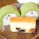 高山桜庵 - 朝食バイキング デザート