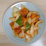 華鈴 - 古老猪肉(酢豚)(950円)(2008/03/24)