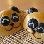 ぱにーに - 鳥取パニーニのオリジナルのパンダパン