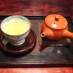 西洋菓子しろたえ - 煎茶(400円)
