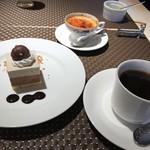 ビストロ ファンベック マサミ - デザート、茶