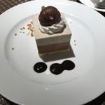 ビストロ ファンベック マサミ - 栗のムースケーキ