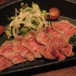 わさび - 京都牛のたたき