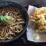 三久 - かき揚げ蕎麦大盛\1430(17-11)
