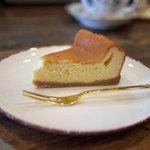 ひばり珈琲 - チーズケーキ