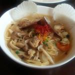 ラビッシュ - 魚介スープと和風ボンゴレスパゲッティ(キングオブパスタ2015)