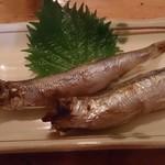 そば処 越後路 - お魚!