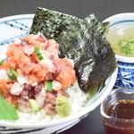 鶏厨房 ずっと - 【ランチ】海鮮丼