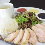 鶏厨房 ずっと - 【ランチ】チキンライス